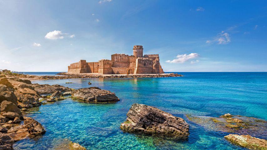 「カーポ・リッツートのレ・カステッラ城」イタリア, カラブリア州