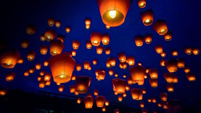 「平渓天燈節」台湾, 台北