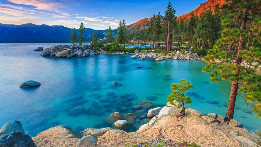 「サンド・ハーバー」米国ネバダ州, レイクタホ州立公園