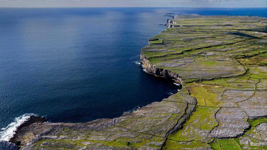「イニシィア島」アイルランド, アラン諸島