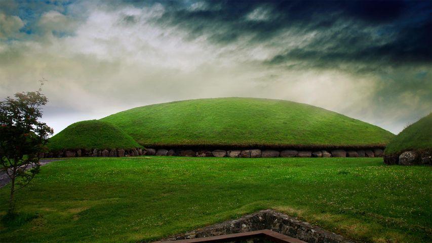 「ニューグレンジ」アイルランド, ミース州