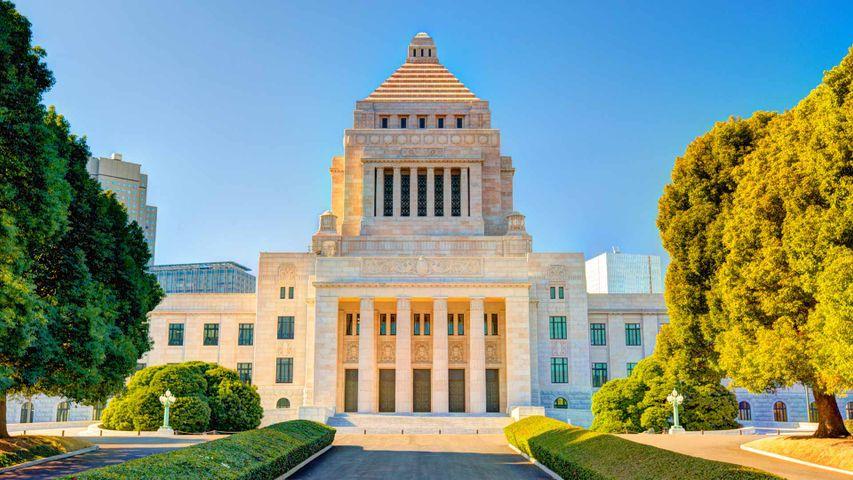 「国会議事堂」東京, 永田町