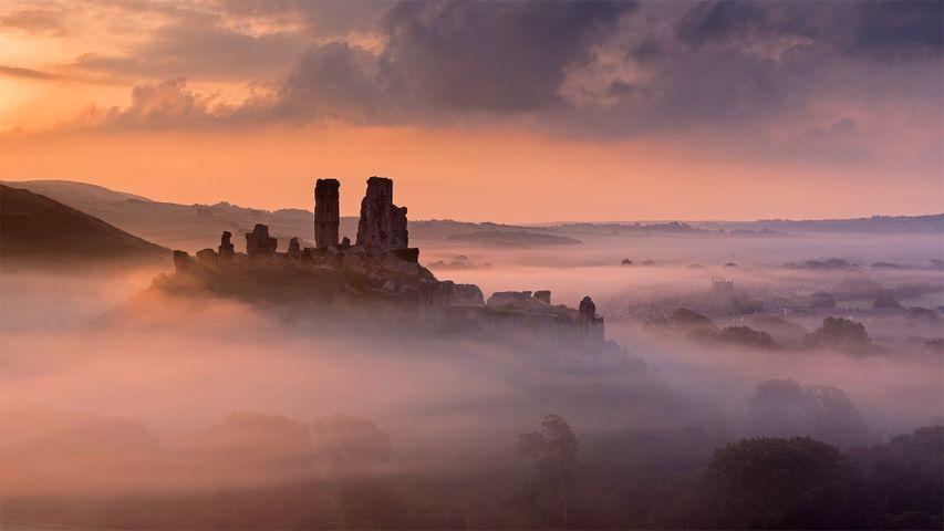 「コーフ城」イギリス, ドーセット