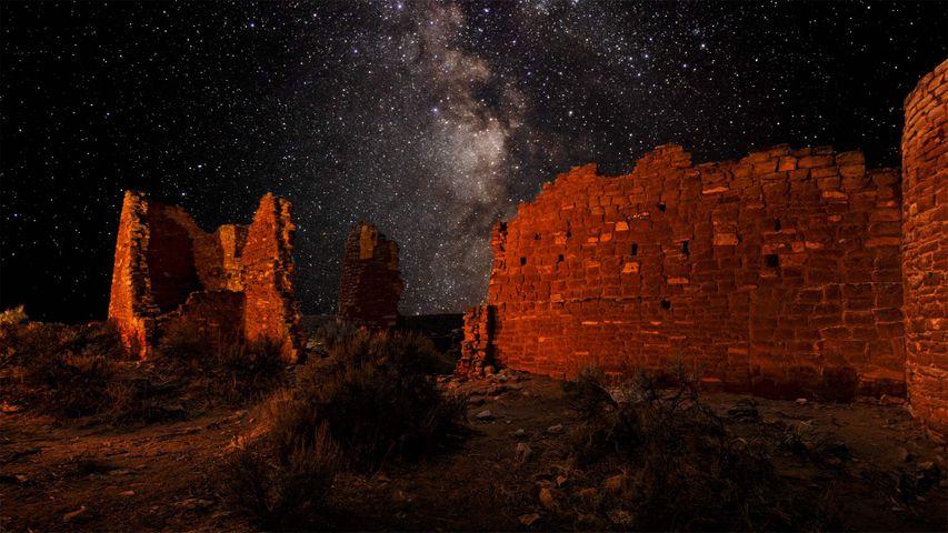 「ホーブンウィープ国定公園の塔」米国, ユタ州