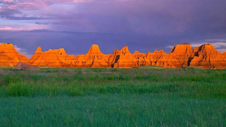「プレイリーとピナクルス」米国サウスダコタ州, バッドランズ国立公園