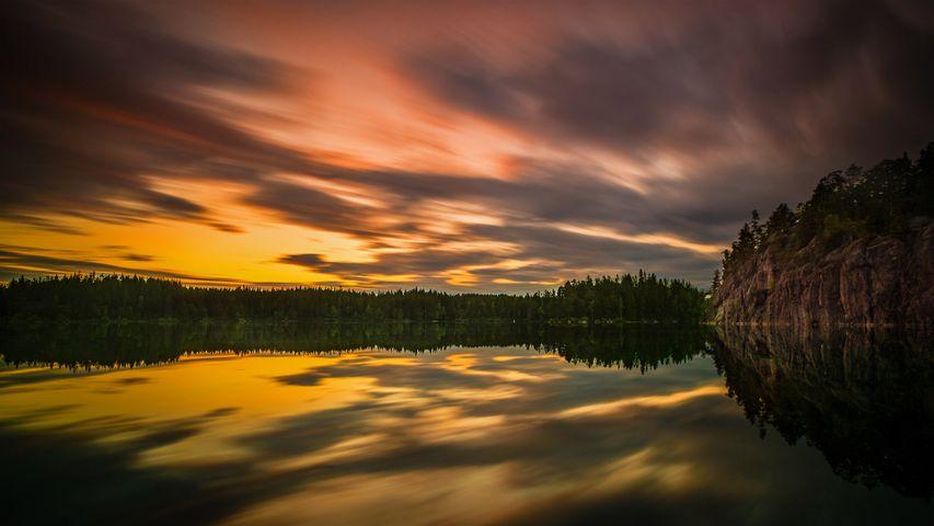 「夏至の白夜」スウェーデン, エレブルー