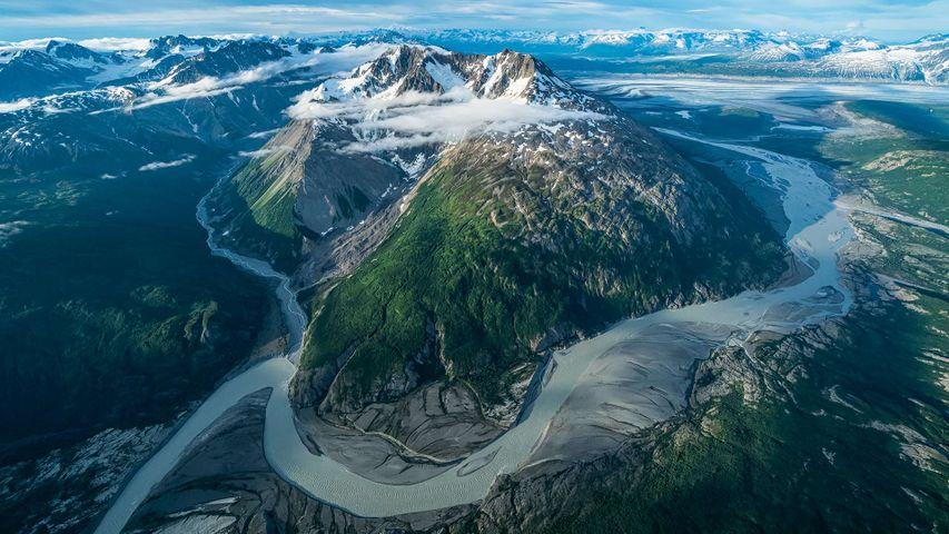 「クルエーン国立公園・保護区」カナダ, ユーコン準州