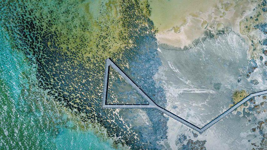 「ハメリン・プール海洋自然保護区」オーストラリア