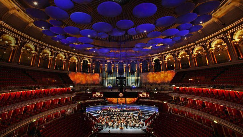「ロイヤル・アルバート・ホール」イギリス,ロンドン