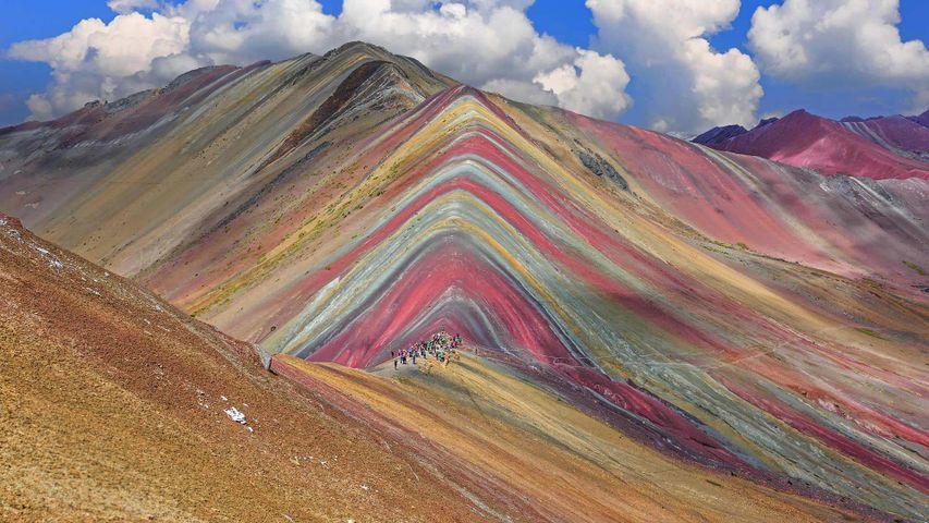 「レインボー・マウンテン」ペルー, クスコ県