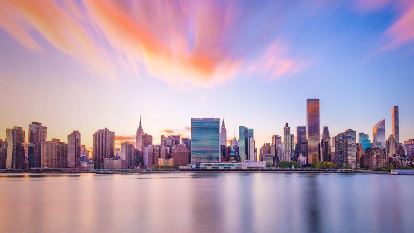 「タートル・ベイの国際連合本部ビル」米国ニューヨーク州, ニューヨーク市