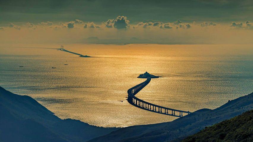 「港珠澳大橋」中国, 香港