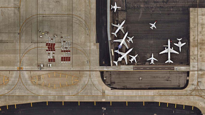 「フェニックス・スカイハーバー国際空港」米国アリゾナ州,  フェニックス