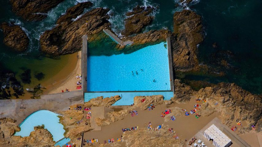 「レサのスイミングプール」ポルトガル, レサ・ダ・パルメイラ
