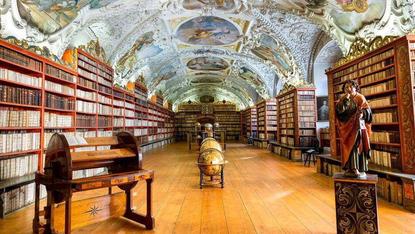 「ストラホフ修道院」チェコ, プラハ