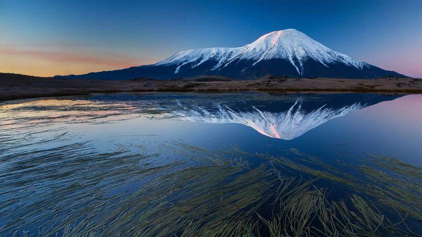「トルバチク山」ロシア, カムチャツカ半島