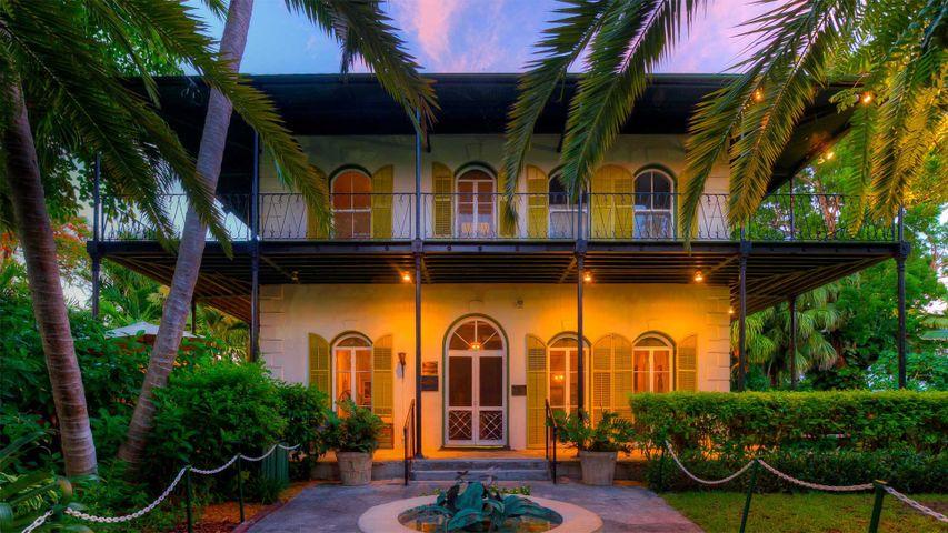「アーネスト・ヘミングウェイ博物館」米国フロリダ州, キーウェスト