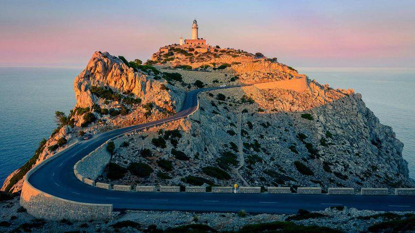 「フォルメントール灯台」スペイン, フォルメントール岬
