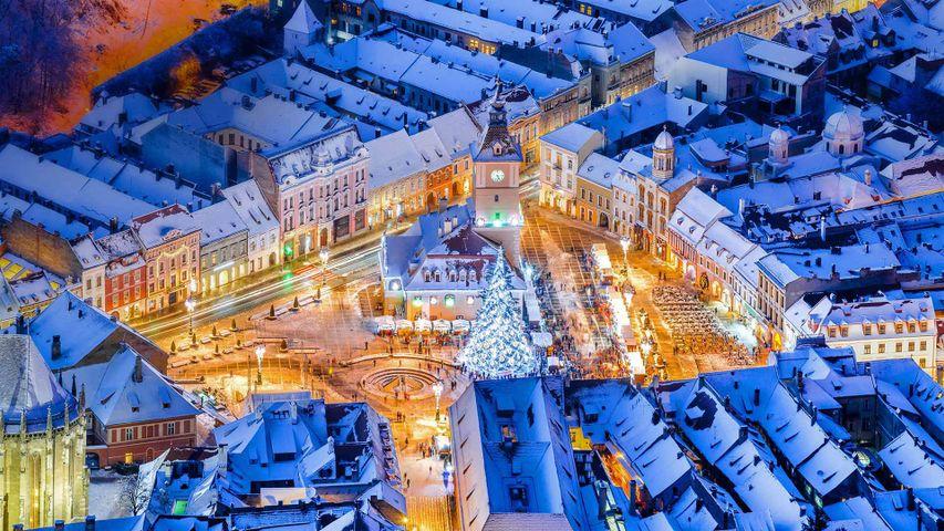 「ブラショヴのクリスマスマーケット」ルーマニア, トランシルヴァニア