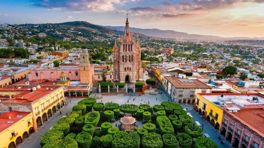 「サン・ミゲル・デ・アジェンデ」メキシコ, グアナフアト州