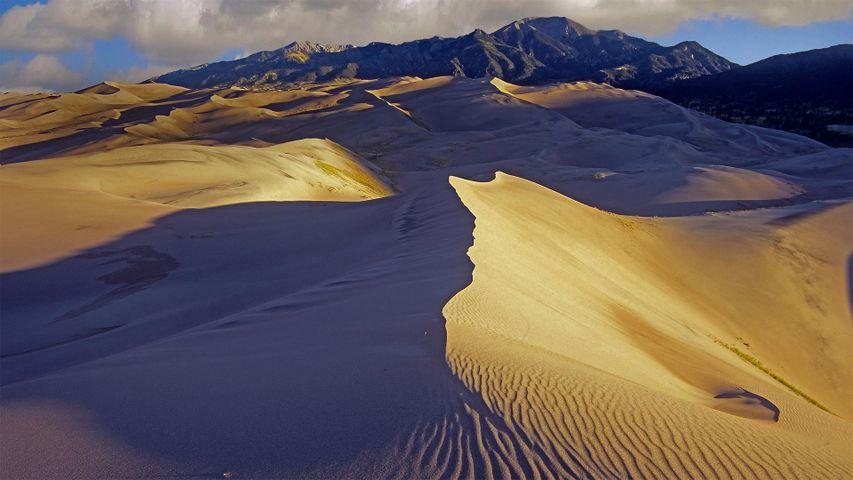「グレートサンドデューンズ国立公園」米国コロラド州