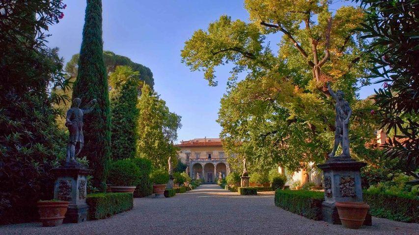 「コルシーニ庭園」イタリア, フィレンツェ