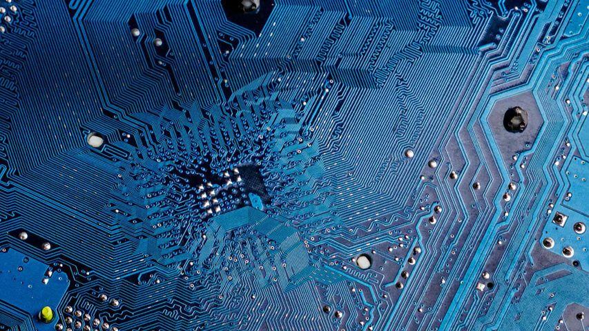 「半導体集積回路のクローズアップ」