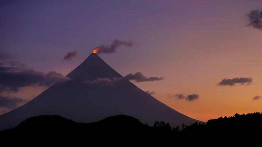 「マヨン山」フィリピン, ルソン島