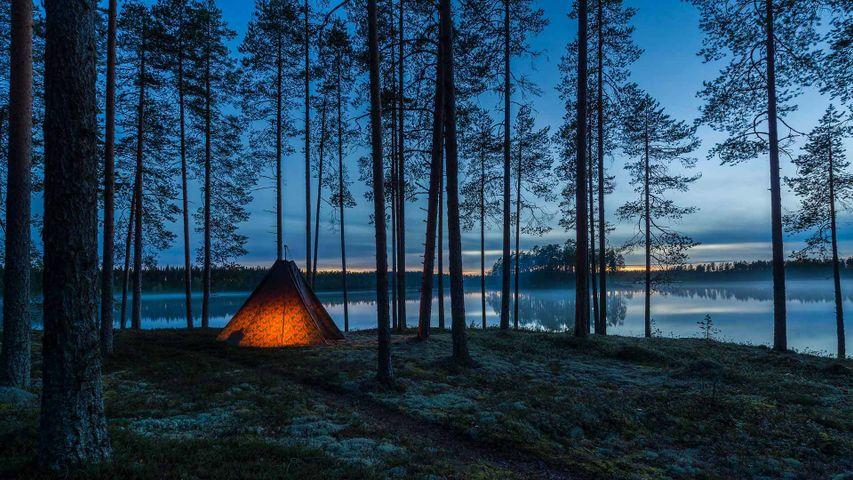 「ムジェ・オウル湖」フィンランド, イロマンツィ
