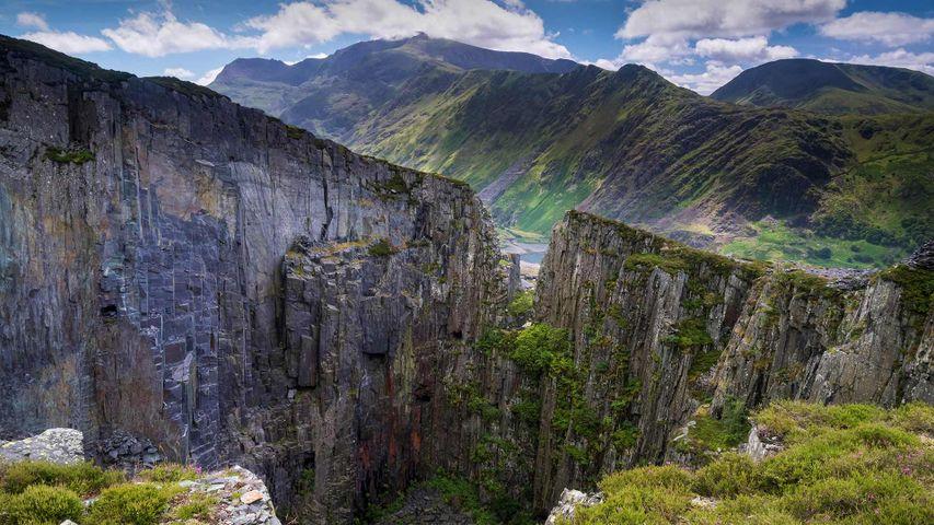 「スノードニア国立公園」英国, ウェールズ
