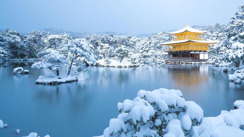 「金閣寺」京都, 北区