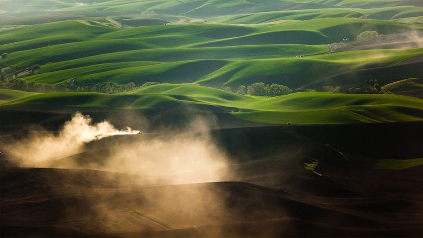 「パルース丘陵」米国ワシントン州, プルマン