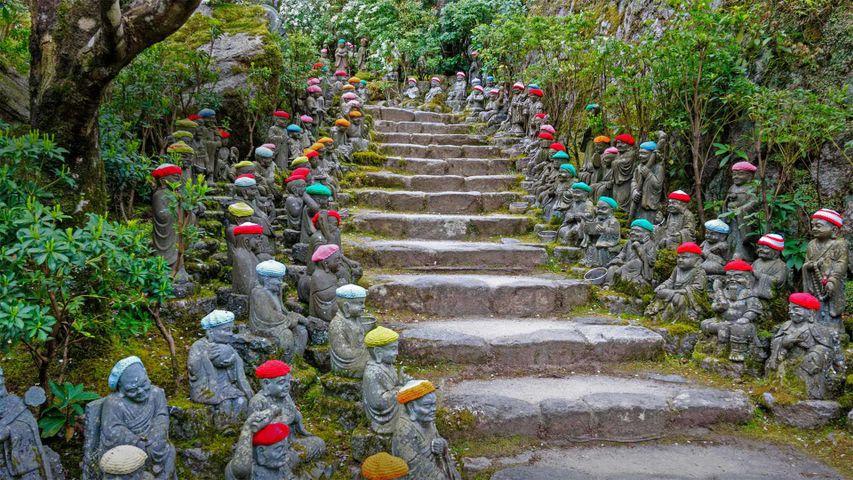「五百羅漢庭園」広島, 宮島