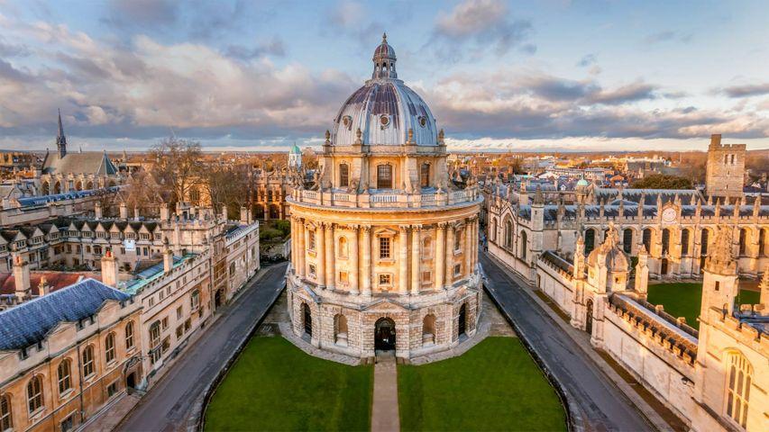 「ラドクリフ・カメラ」イギリス, オックスフォード