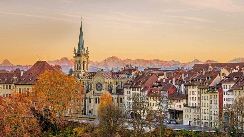 「ベルン旧市街」スイス