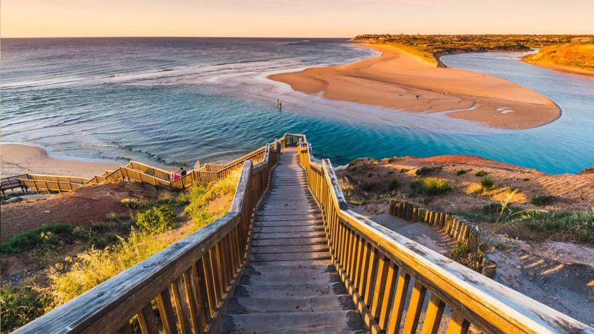 「オンカパリンガ川」オーストラリア, 南オーストラリア州