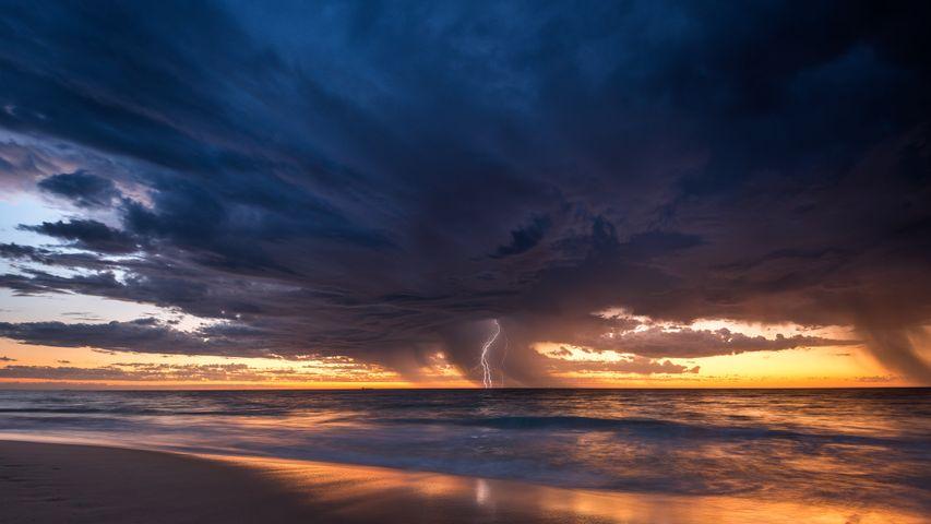 「夏の嵐」オーストラリア, パース