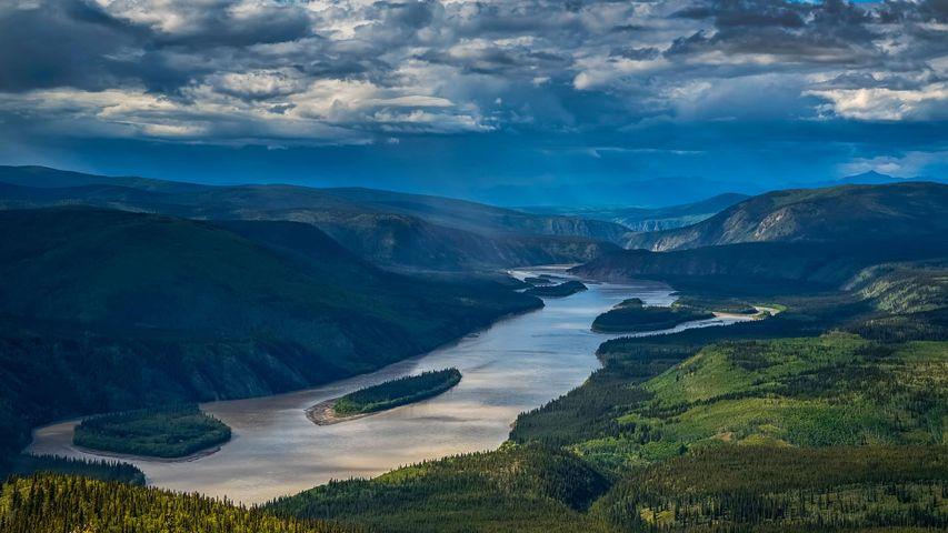 「ユーコン川」カナダ, ユーコン準州